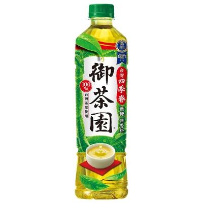 御茶園 台灣四季春(550mlx24入)