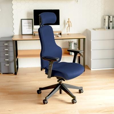 買就送 完美主義 人體工學4D設計款頭靠電腦椅/主管椅/辦公椅/紳士椅/德國設計