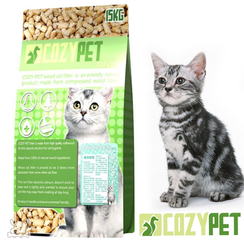 COZY PET 舒適貓 松木砂 崩解型 貓砂 15kg