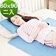 米夢家居 嚴選長效型降6度冰砂冰涼墊(60*90CM)兒童、單人小床墊用(2入) product thumbnail 1