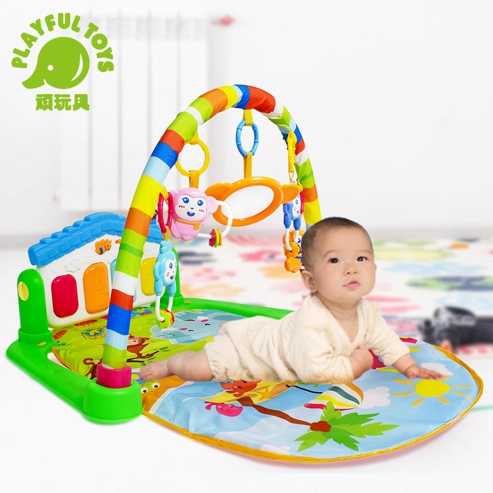 Playful Toys 頑玩具 腳踏鋼琴健身架(新生兒寶寶多功能健身架)