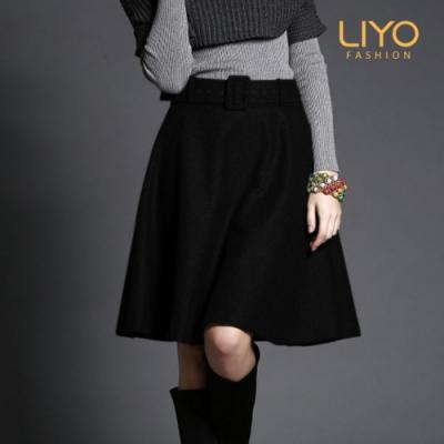 裙子 -LIYO理優-精選毛呢面料 大圍裙-E943003