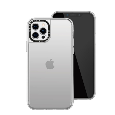 Casetify iPhone 12 Pro Max 輕量耐衝擊保護殼-透明