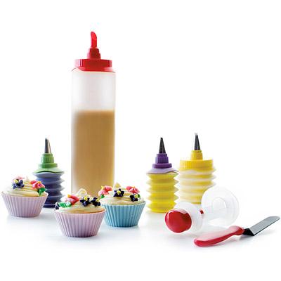 IBILI Sweet抹刀+瑪芬烤杯擠花16件組