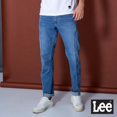 Lee 牛仔褲 755 中腰標準3D 男 深藍  彈性+涼感 JADE