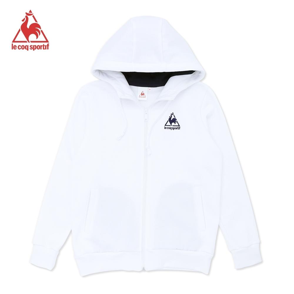 法國公雞牌連帽外套 LOM6360190-男女-白