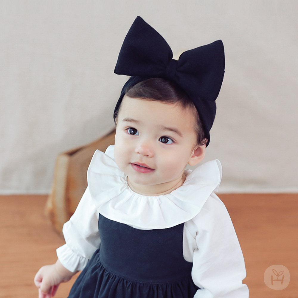 Happy Prince韓國製 Asilri嬰童立體蝴蝶結髮帶-多色