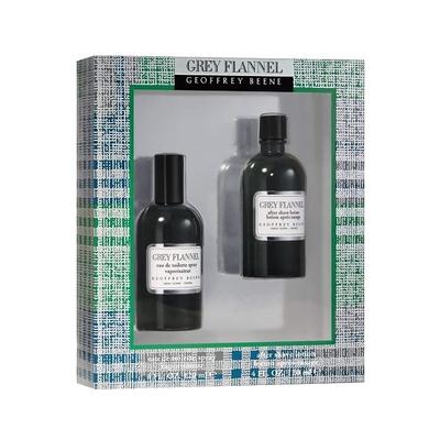 Geoffrey Beene Grey Flannel 灰色元素男性淡香水禮盒 (香水120ml+鬍後乳120ml)