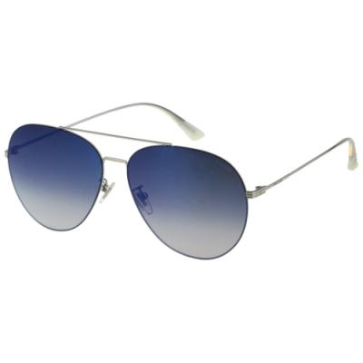 POLICE 水銀面 太陽眼鏡 (銀色)SPL676K