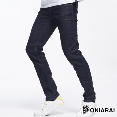鬼洗 BLUE WAY –COOL MAX低腰直筒褲(原生藍)