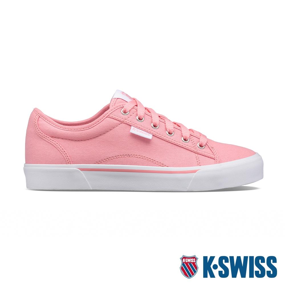 K-SWISS Port帆布運動鞋-女-蜜桃橘