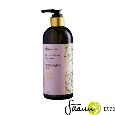 FASUN琺頌 深層潔淨洗髮乳-佛手柑300ml