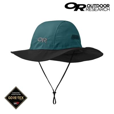 Outdoor Research Gore-Tex防水透氣大盤帽 280135【深綠/黑】