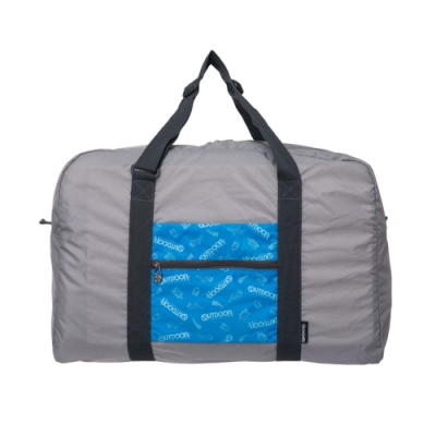 【OUTDOOR】旅遊配件-摺疊旅行袋 藍 ODS15B03BL