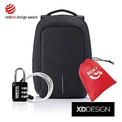 XDDESIGN BOBBY XL終極安全防盜後背包-大大黑 大全配組合