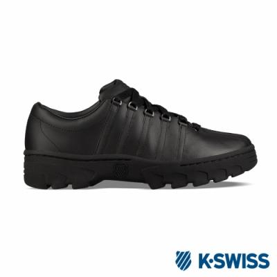 K-SWISS North Classic復古鋸齒鞋-男-黑