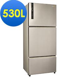 SAMPO聲寶 530L 1級變頻3門電冰箱 SR-B53DV(Y6) 香檳銀