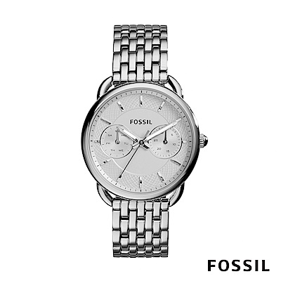 FOSSIL TAILOR 多功能不鏽鋼女錶 35mm ES3712