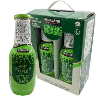 Kirkland Signature 科克蘭 有機綠色蔬果汁(1Lx2入)