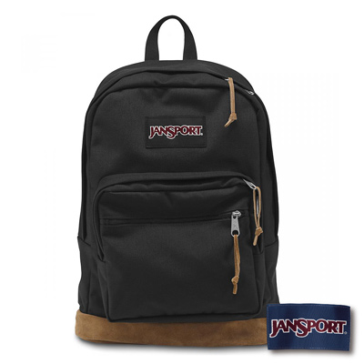 JanSport -RIGHT PACK系列後背包 -黑