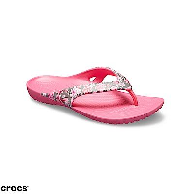 Crocs 卡駱馳 (女鞋) 卡笛人字拖 204231-96Z