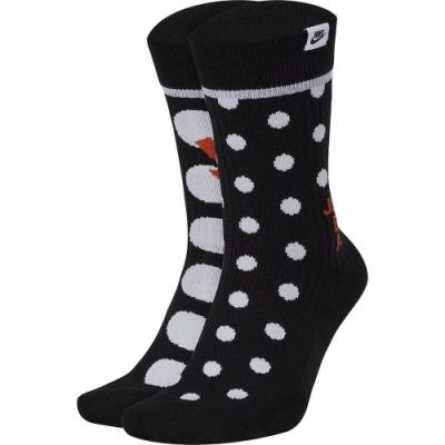 NIKE 襪子 訓練襪 運動襪 4雙組 SK0132010 U SNKR SOX CREW 2PR - JDI DOTS