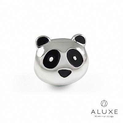 ALUXE亞立詩 Charming系列 925純銀珠飾- 趴趴熊 Lazy Panda