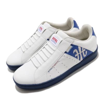 Royal Elastics 休閒鞋 Genesis 套腳 穿搭 男鞋 基本款 輕便 舒適 簡約 質感 白 藍 01902058