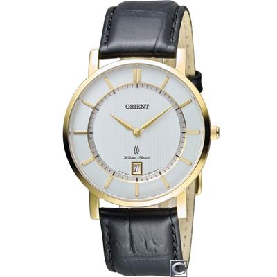 ORIENT東方錶SLIM系列超薄優雅時尚錶(FGW01002W)