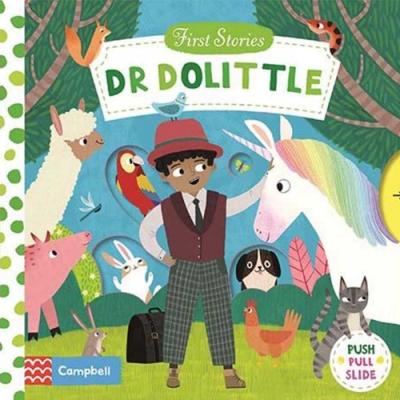 First Stories:Doctor Dolittle 杜立德醫生硬頁拉拉操作書