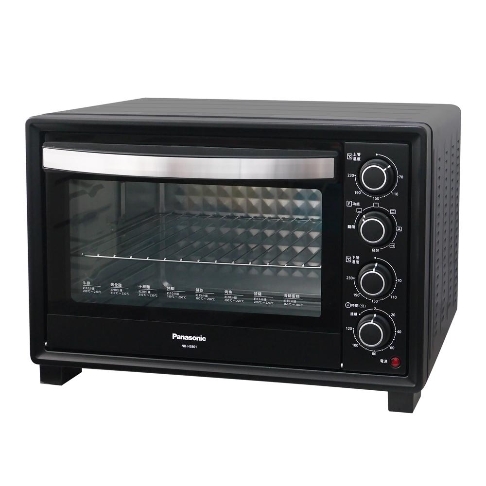 Panasonic國際牌38L雙溫控發酵烘焙電烤箱 NB-H3801
