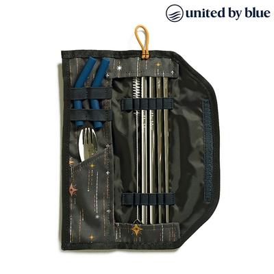 United by Blue 防潑水餐具收納包組 Printed Utensil Kit 814-038 (印花款) 印花星空藍