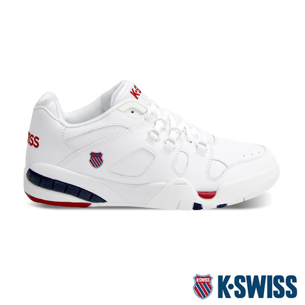 K-SWISS Caprina復古老爹鞋-男-白