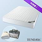 TENDAYS 備長炭床包型保潔墊 特大雙人7尺