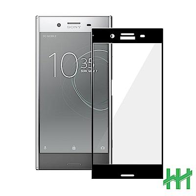 鋼化玻璃保護貼系列 SONY  XZ Premium (5.5吋)(3D曲面滿版黑)