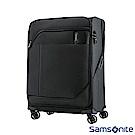 Samsonite新秀麗 27吋Janik商務功能性飛機輪TSA布面行李箱(黑色)