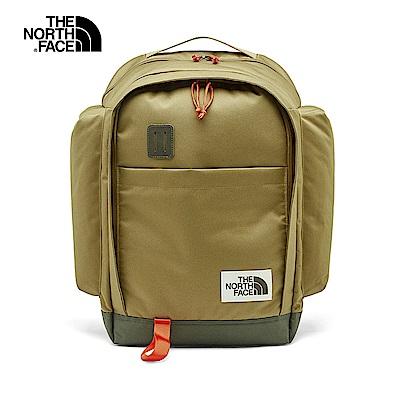 The North Face北面男女款卡其色防護專業後背包|3KY2ENX