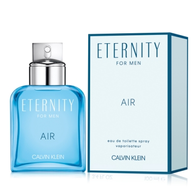 Calvin Klein CK Eternity Air 永恆純淨男性淡香水50ml-國際航空版