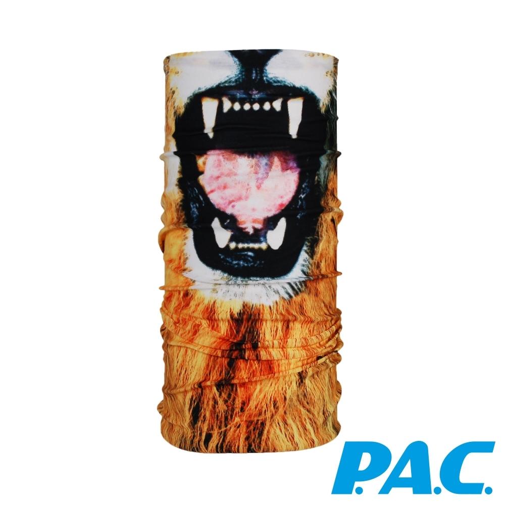 【PAC德國】面具造型頭巾透氣抗菌抗臭快乾PAC8810255獅子