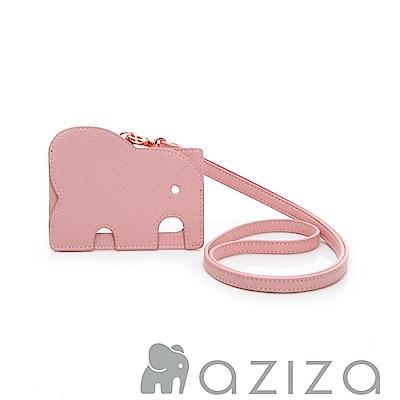 AZIZA 小象證件套-粉