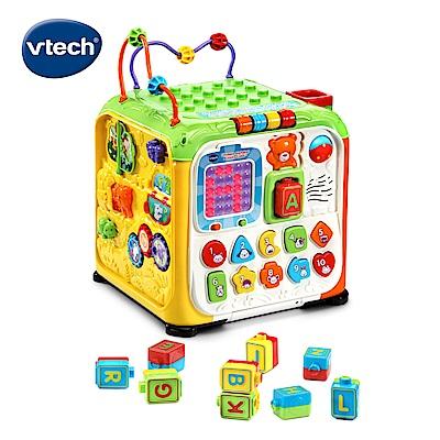 【Vtech】5合1多功能字母感應積木寶盒