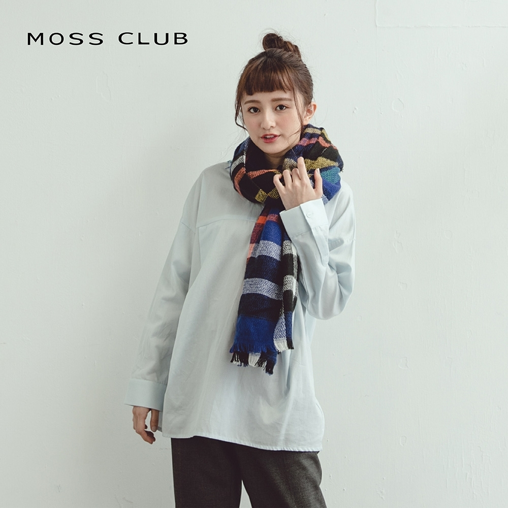 【MOSS CLUB】日系簡約造型-上衣(三色)