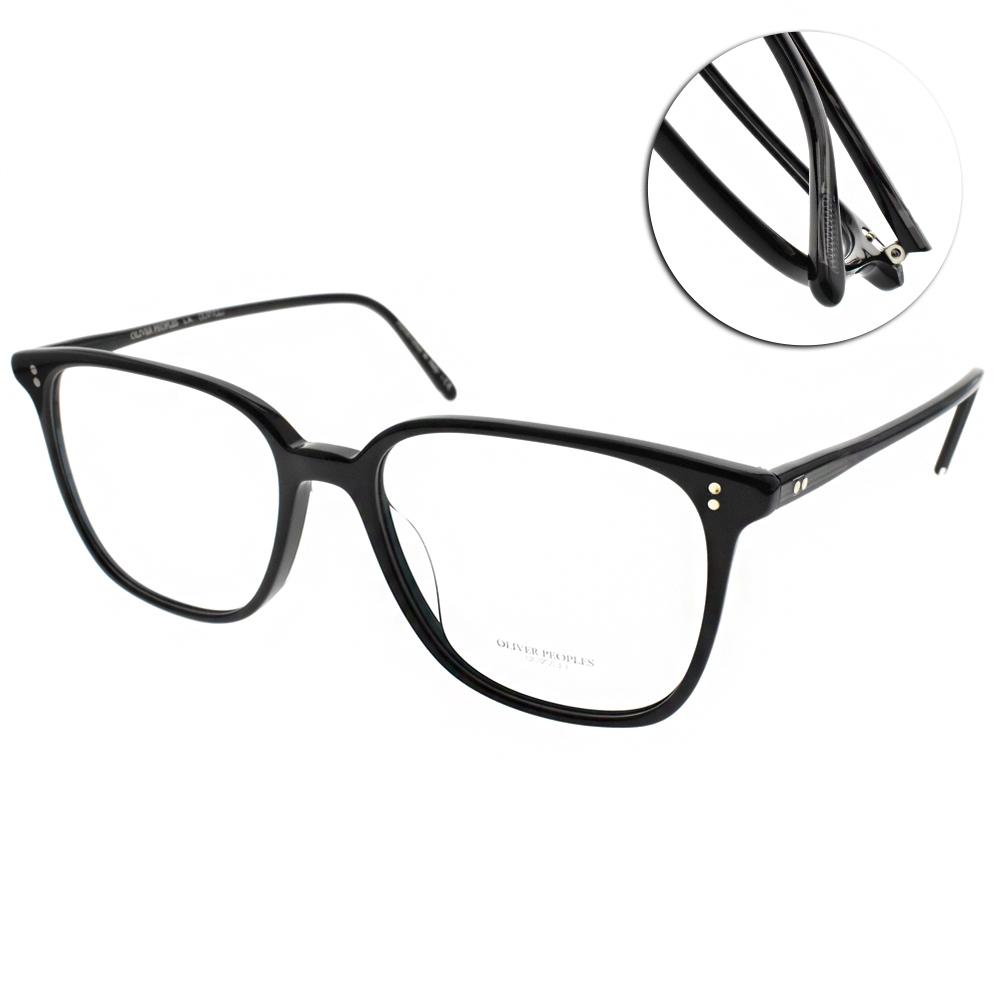 OLIVER PEOPLES眼鏡 百搭人氣方框/黑#COREN 1005
