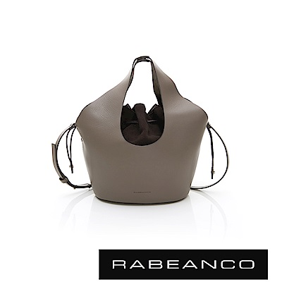 RABEANCO AINA 手提/肩揹水桶包 灰色