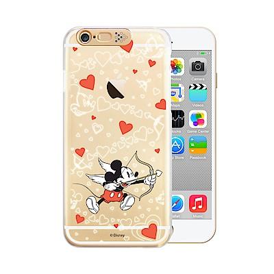 Openbox iPhone6/ 6S 可愛爆閃手機殼-米奇邱比特/米妮邱比特