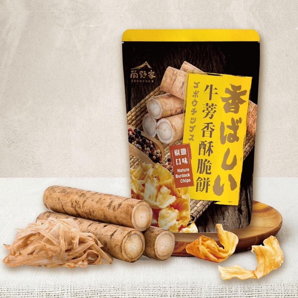 【尚野家】牛蒡香酥脆餅80g