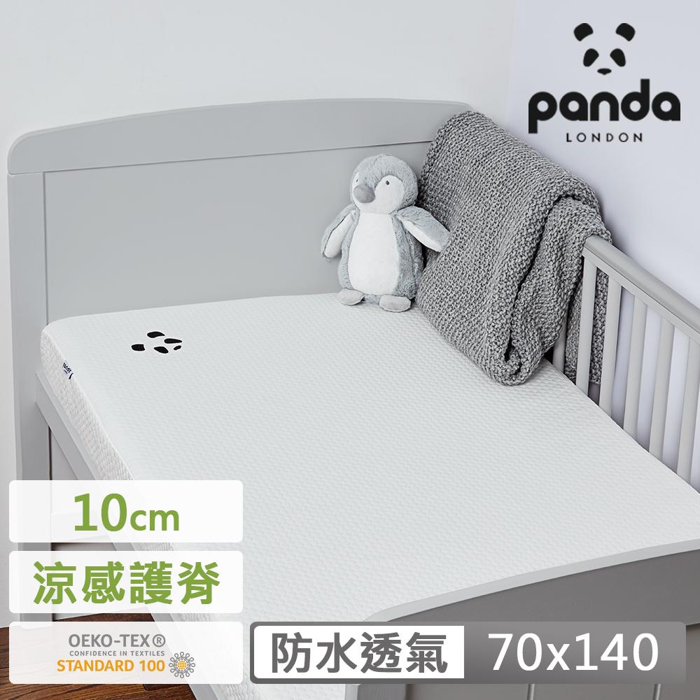 【英國Panda】嬰兒床墊 70x140x10 六層式設計 竹纖維 抗菌 排濕 透氣