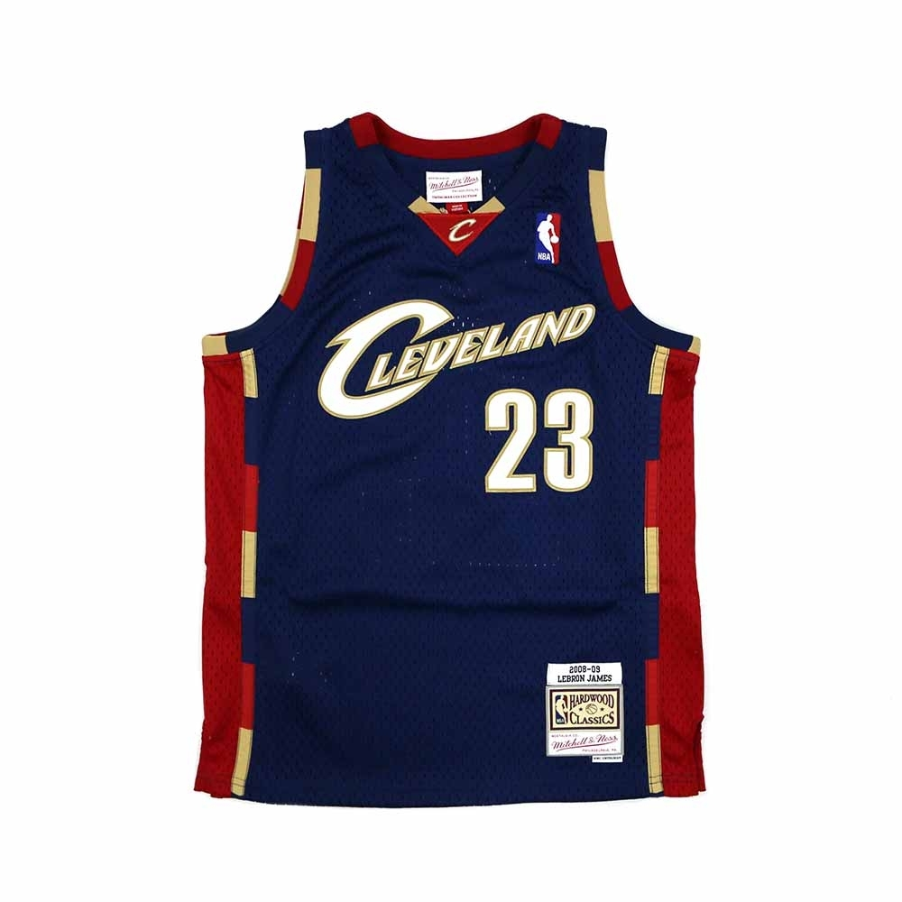 M&N 青少年 G1 Swingman復古球衣 騎士隊 08-09 LeBron James #23 product image 1