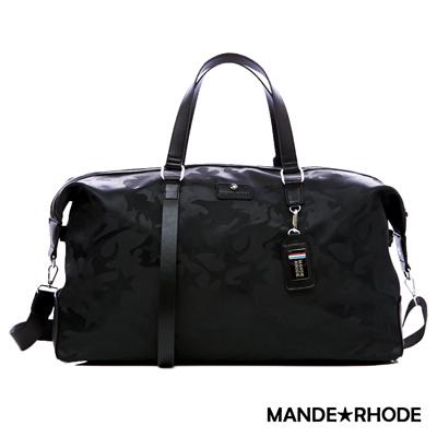 MANDE RHODE-卡莫雷茲x美系潮男風格極限旅行袋