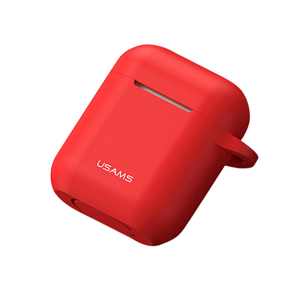 USAMS AirPods充電盒矽膠保護套